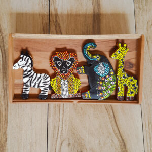 "Safari Wooden ""Dots"" Puzzles"