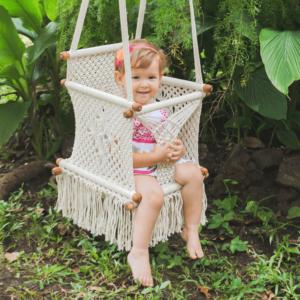 Macramé Baby Swing